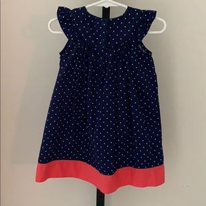 Gymboree Dresses - Toddler Girls Gymboree Polka Dot Dress Size 18-24M